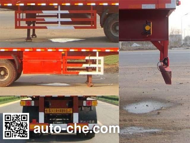 Chuanteng HBS9400XXYA box body van trailer