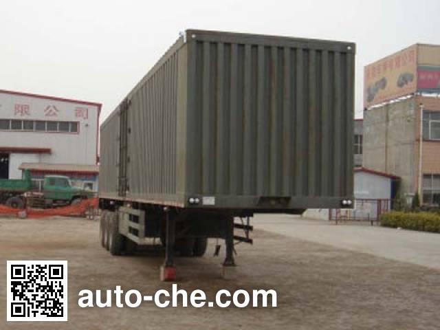 Chuanteng HBS9404XXY box body van trailer