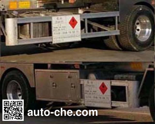 Changhua HCH5313GYYCA aluminium oil tank truck