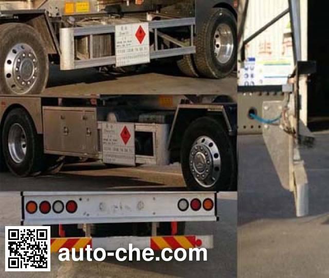 Changhua HCH5321GYYZ aluminium oil tank truck
