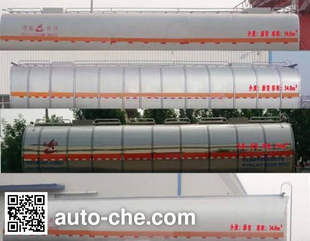 Changhua HCH9400GLYQ liquid asphalt transport tank trailer