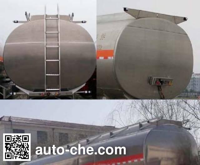 Changhua HCH9400GRY41 flammable liquid tank trailer