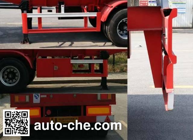 Changhua HCH9400GRYMJ flammable liquid tank trailer
