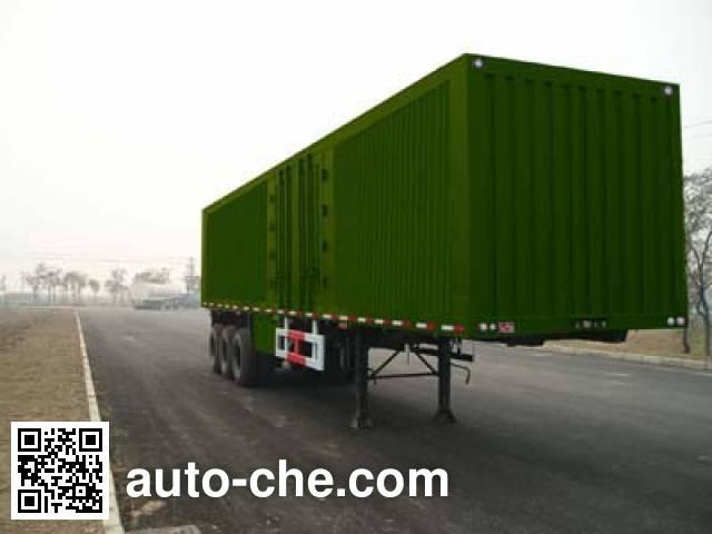 Changhua HCH9400XXY box body van trailer