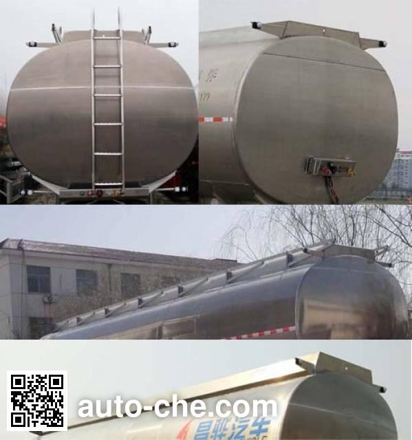 Changhua HCH9400GRH42 lubricating oil tank trailer