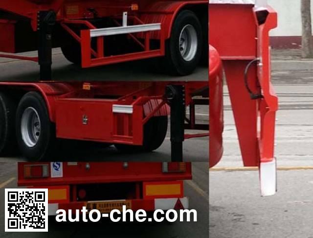 Changhua HCH9401GRYD flammable liquid tank trailer
