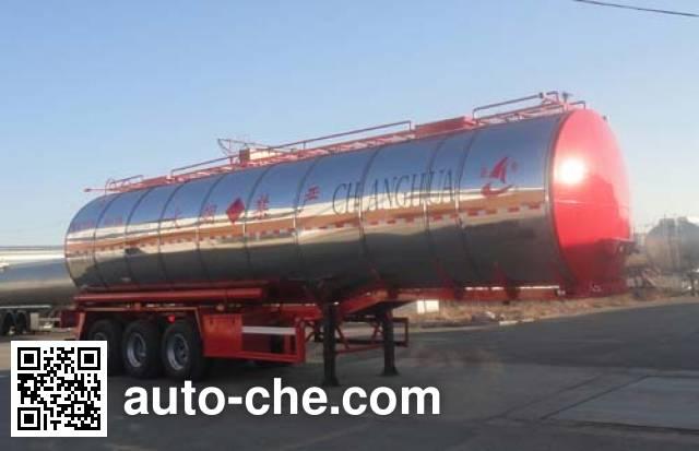 Changhua HCH9400GRYD flammable liquid tank trailer