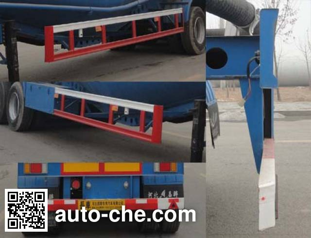 Changhua HCH9405GFL low-density bulk powder transport trailer