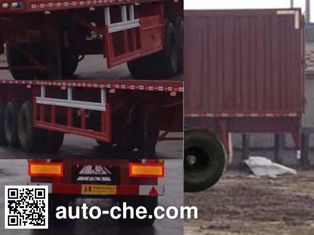 Changhua HCH9406XXY box body van trailer