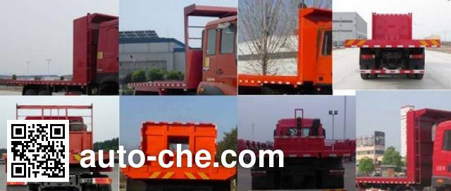 Sunhunk HCTM HCL3250CAN40P6J4 flatbed dump truck