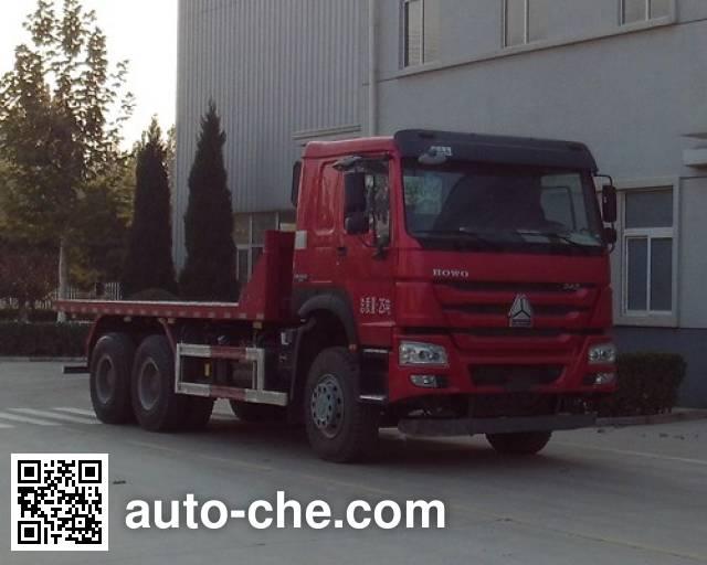 Sunhunk HCTM HCL3257ZZN41P5L5 flatbed dump truck