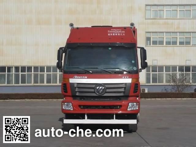 Sunhunk HCTM HCL3313BJN39P7E4 flatbed dump truck