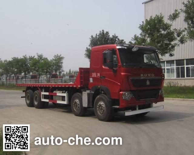 Sunhunk HCTM HCL3317ZZV46P8H5 flatbed dump truck