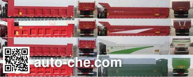 Sunhunk HCTM HCL5253ZLJBJ385E4 dump garbage truck