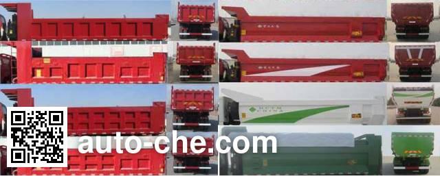 Sunhunk HCTM HCL5253ZLJBJ416E4 dump garbage truck