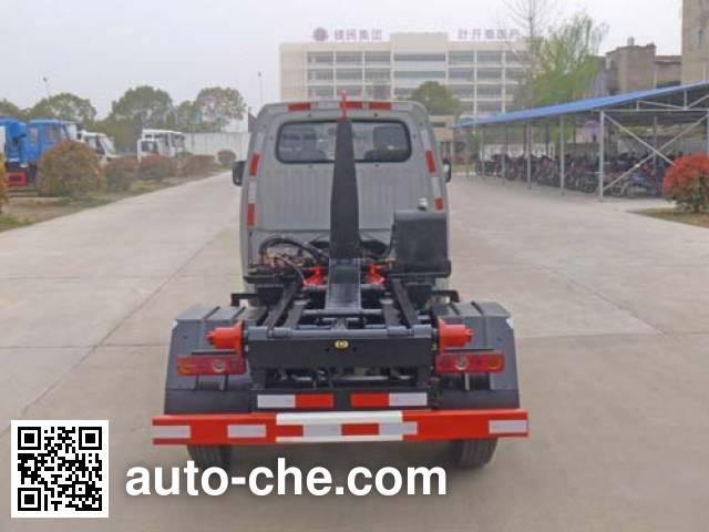Huatong HCQ5036ZXXHF5 detachable body garbage truck