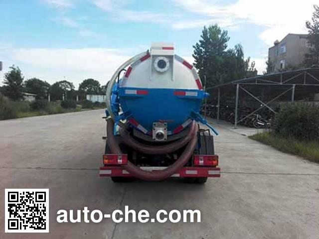 Huatong HCQ5040GXWB5 sewage suction truck