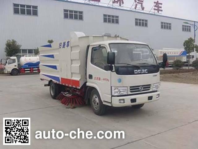 华通牌HCQ5040TSLDFA扫路车