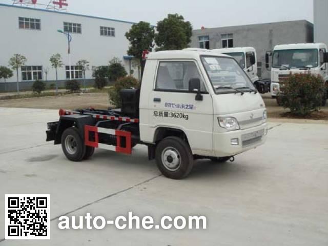 Huatong HCQ5040ZXXB detachable body garbage truck