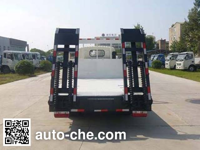 Huatong HCQ5041TPBDFA flatbed truck