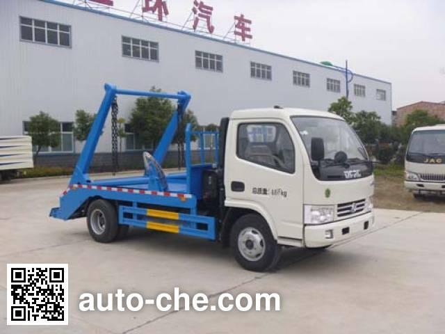 Huatong HCQ5041ZBSDFA skip loader truck
