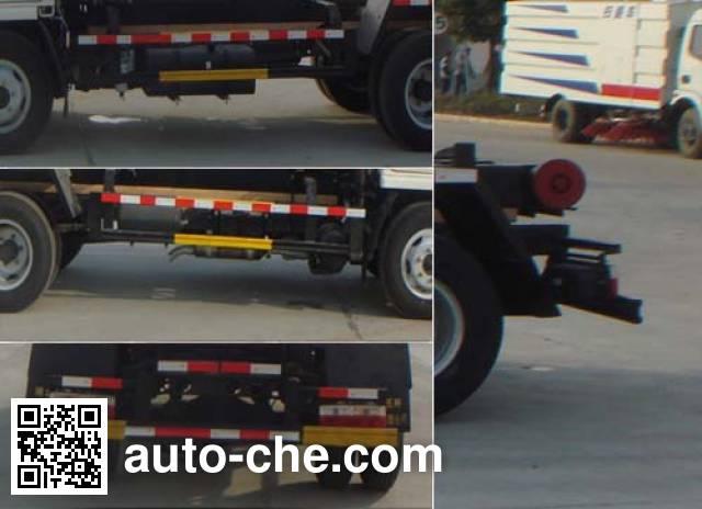 Huatong HCQ5070ZXXEQ5 detachable body garbage truck