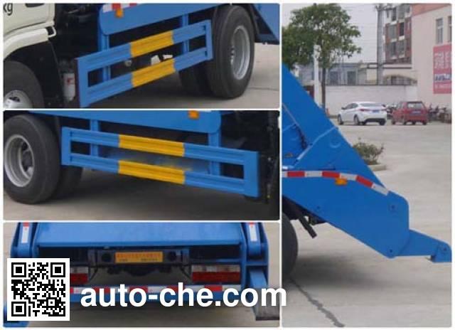 Huatong HCQ5070ZBSDFA skip loader truck