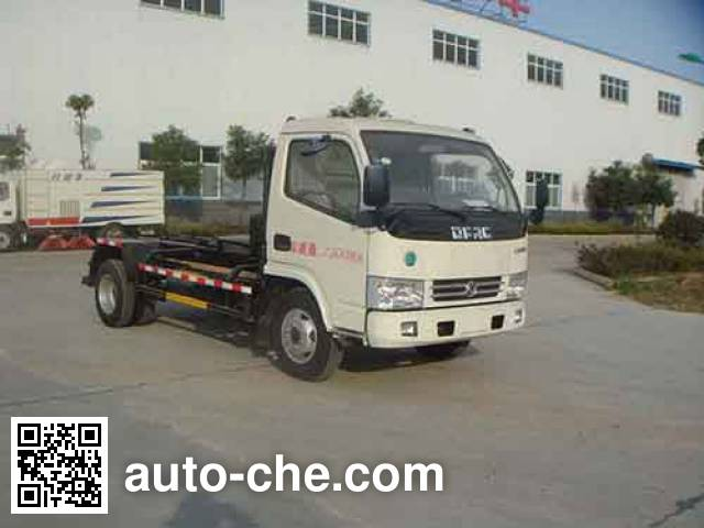 Huatong HCQ5070ZXXDFA detachable body garbage truck