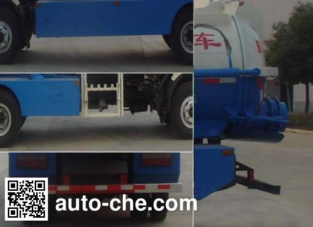 Huatong HCQ5080TCADFA food waste truck
