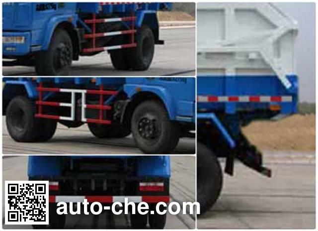 Huatong HCQ5080ZLJDF dump garbage truck