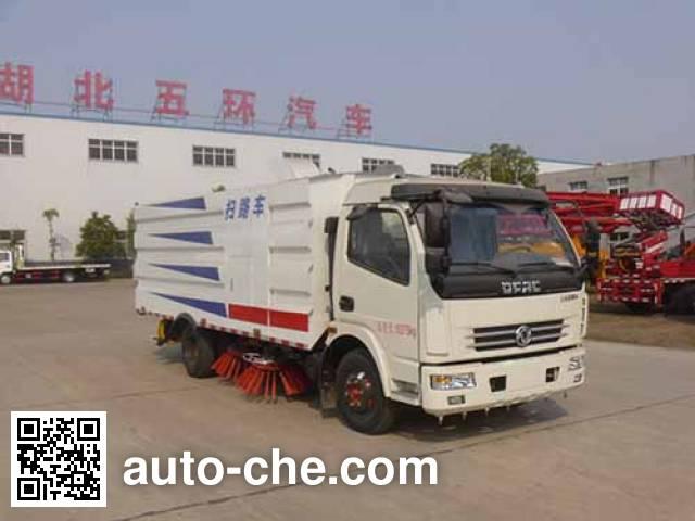 华通牌HCQ5082TSLE5扫路车