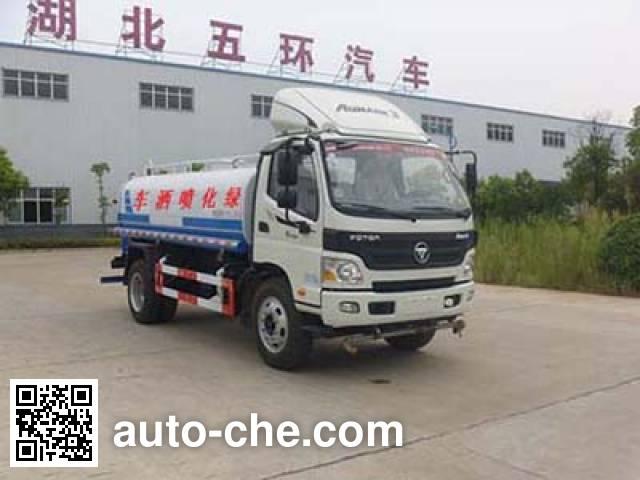华通牌HCQ5085GSSBJ5洒水车