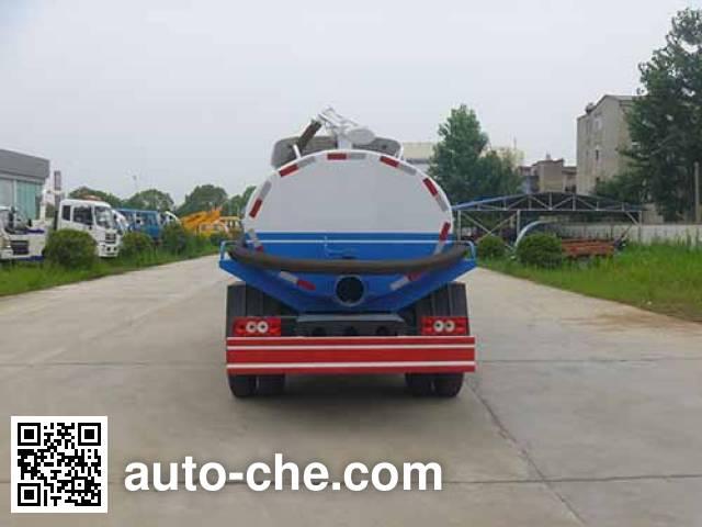 Huatong HCQ5089GXEBJ suction truck