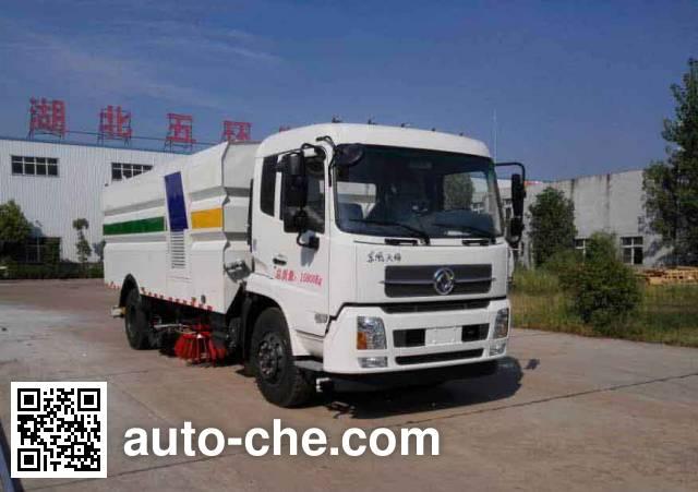Huatong HCQ5160TXSDL5 street sweeper truck