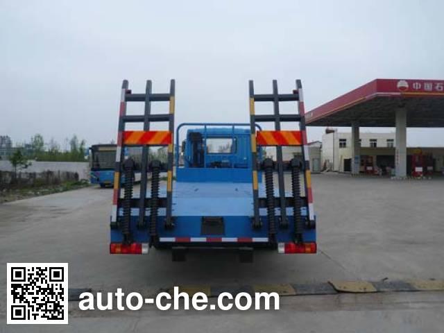 Huatong HCQ5161TPBCA flatbed truck