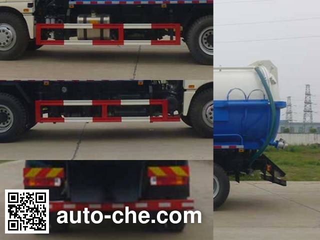 Huatong HCQ5162GXWB5 sewage suction truck