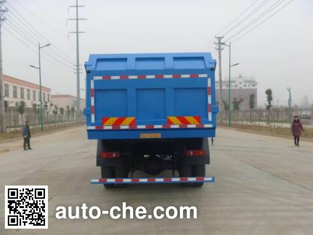 华通牌HCQ5164ZDJDFL压缩式对接垃圾车