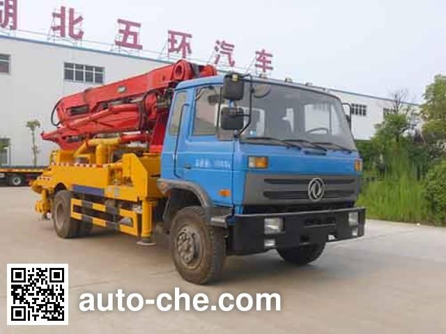 Huatong HCQ5168THBEQ concrete pump truck