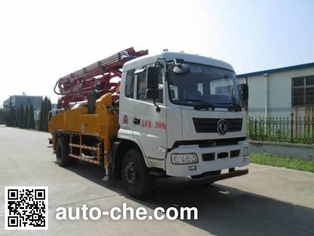 华通牌HCQ5196THBEQ混凝土泵车