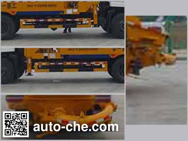 Huatong HCQ5196THBEQ concrete pump truck