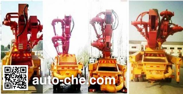 华通牌HCQ5200THBEQ5混凝土泵车