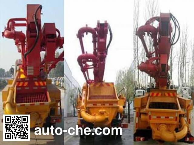 Huatong HCQ5200THBEQ5 concrete pump truck