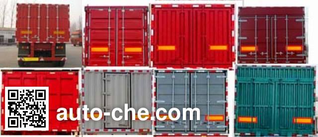 Chengxing HCX9400XXY box body van trailer