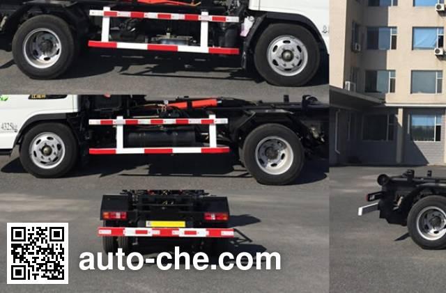Jiezhijie HD5040ZXXH4 detachable body garbage truck
