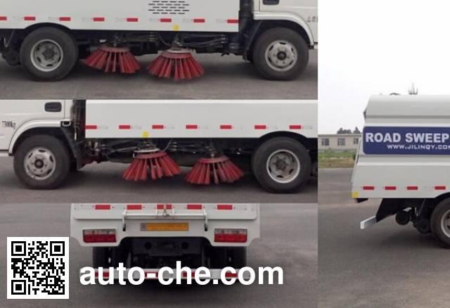 Jiezhijie HD5070TSLDFA4 street sweeper truck