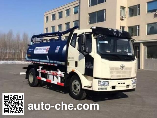 Jiezhijie HD5122GXWC4 sewage suction truck
