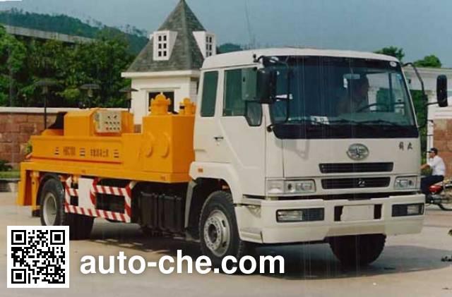 Jiezhijie HD5130THB concrete pump truck