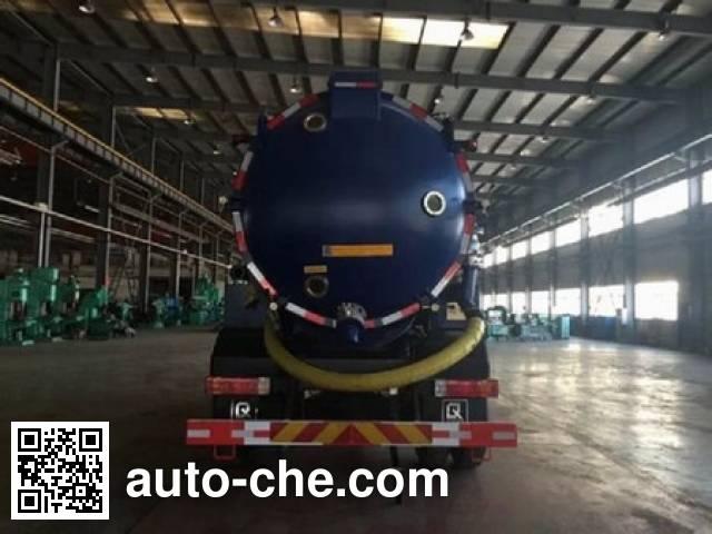 Jiezhijie HD5160GXWC4 sewage suction truck