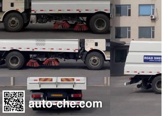 Jiezhijie HD5160TSLC4 street sweeper truck