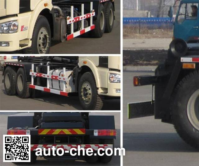 Jiezhijie HD5250ZXXE detachable body garbage truck